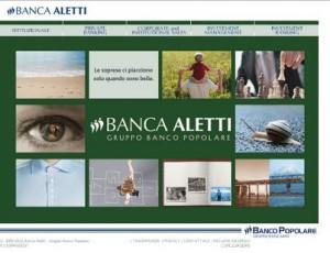 Il sito ufficiale di Banca Aletti