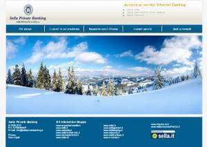Il sito ufficiale di Sella Private Banking
