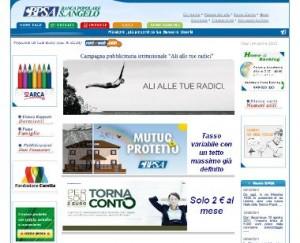 Il sito ufficiale della Banca Popolare S.Angelo