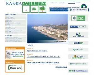 Il sito ufficiale della Banca per lo Sviluppo della Cooperazione di Credito