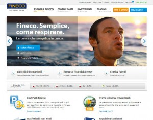 Foto del sito ufficiale FINECO